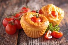 Tomatenmuffin Stockbilder
