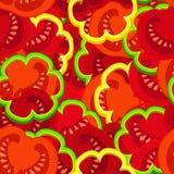 Tomatenmuster Stockbild