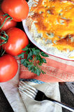 Tomatenpastei royalty-vrije stock foto's