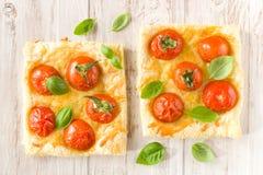 Tomatenpastei royalty-vrije stock foto