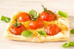 Tomatenpastei stock afbeeldingen