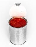 Tomatenpuree Royalty-vrije Stock Fotografie
