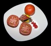 Tomatenpuree Stock Foto