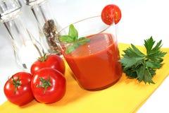 Tomatensaft stockbilder