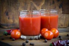 Tomatensaftkirsche lizenzfreie stockfotos