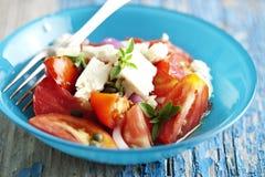Tomatensalade Stock Afbeelding