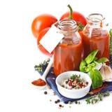 Tomatensauce. Lizenzfreie Stockfotografie
