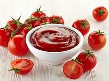 Tomatensauce stockfotos