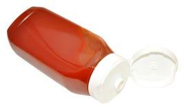 Tomatensauce-Flasche Stockfotografie