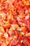 Tomatenscheibe lizenzfreie stockfotografie