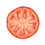 Tomatenscheibe Stockbild