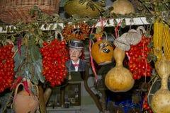 Tomatenwinkel Stock Foto's