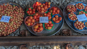 Tomatenwinkel Royalty-vrije Stock Foto's