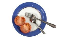 Tomater med socker Arkivbilder