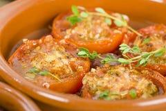 Tomates Al Ajillo 免版税库存图片