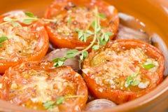 Tomates Al Ajillo 免版税图库摄影