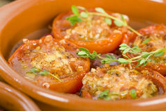 Tomates al Ajillo Royalty Free Stock Images