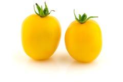 Tomates amarillos Fotos de archivo