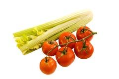 Tomates & aipo Fotos de Stock Royalty Free