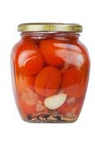 Tomates bidon Photographie stock
