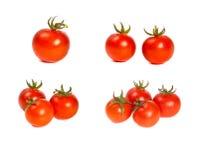 Tomates cerise Arkivfoton