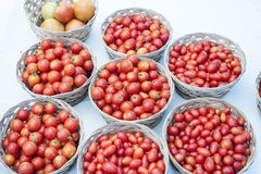 Tomates-cerises photo stock