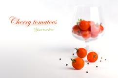 Tomates-cerises Image libre de droits
