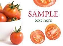 Tomates-cerises images stock