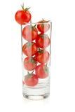 Tomates-cerises en glace Photographie stock libre de droits