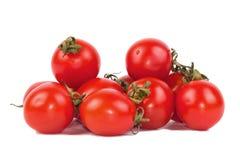 Tomates-cerises rouges Photographie stock libre de droits