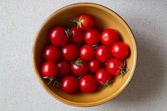 Tomates-cerises VII Images libres de droits
