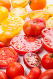 Tomates coloridos Imagem de Stock Royalty Free