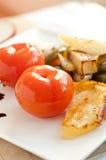 Tomates conservados en vinagre Imagenes de archivo