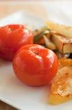 Tomates conservados en vinagre Fotografía de archivo libre de regalías