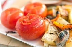 Tomates conservados en vinagre Imagen de archivo libre de regalías
