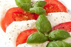 Tomates décorées empilées Images stock