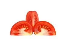 Tomates da fatia. imagem de stock royalty free