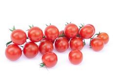 Tomates de Bell en la vid Foto de archivo