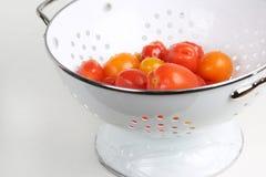 Tomates de bonbon à jardin image libre de droits