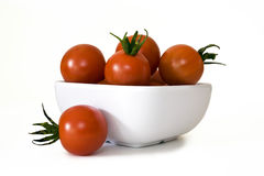 Tomates de cereja Foto de Stock Royalty Free