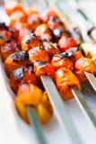 Tomates de cereja carbonizados Fotografia de Stock
