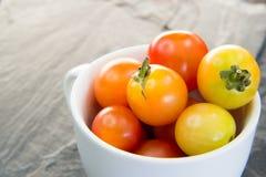 Tomates de cereja tailandeses Fotografia de Stock Royalty Free