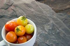 Tomates de cereja tailandeses Foto de Stock Royalty Free