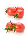 Tomates de cereja vermelhos frescos Imagem de Stock Royalty Free