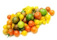 Tomates de cereza Foto de archivo