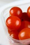 Tomates de cereza 3 Imágenes de archivo libres de regalías