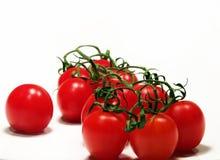 Tomates de cereza Foto de archivo libre de regalías