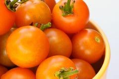 Tomates de cereza de la herencia Foto de archivo libre de regalías