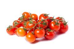 Tomates de cereza jugosos Fotos de archivo libres de regalías