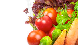 Tomates de cereza maduros frescos Fotos de archivo libres de regalías